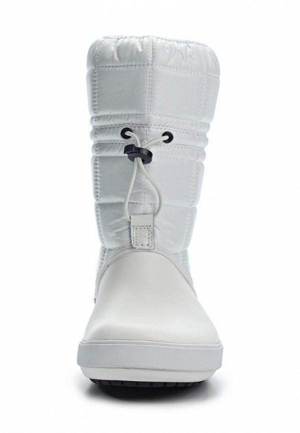 фото Сапоги-дутики женские Crocs CR014AWKC326, белые