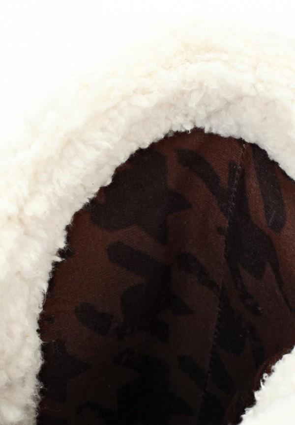 фото Сапоги женские на плоской подошве Crocs CR014AWKC333, коричневые