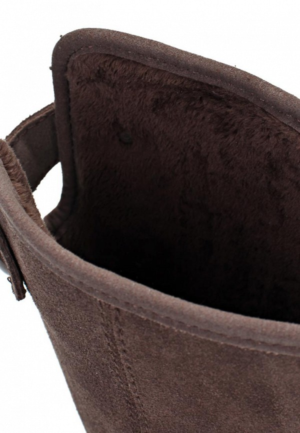 фото Сапоги женские на плоской подошве Crocs CR014AWKX206, коричневые