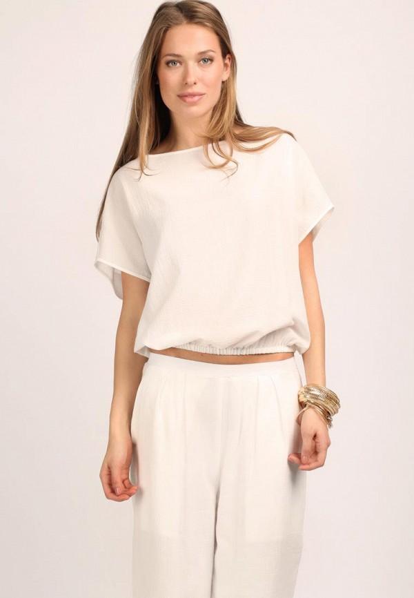 Блуза Cyrille Gassiline CY911EWBC321. Цвет: белый