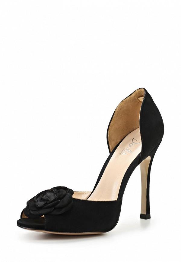 фото Туфли на высоком каблуке Dali DA002AWBEI11, черные открытые