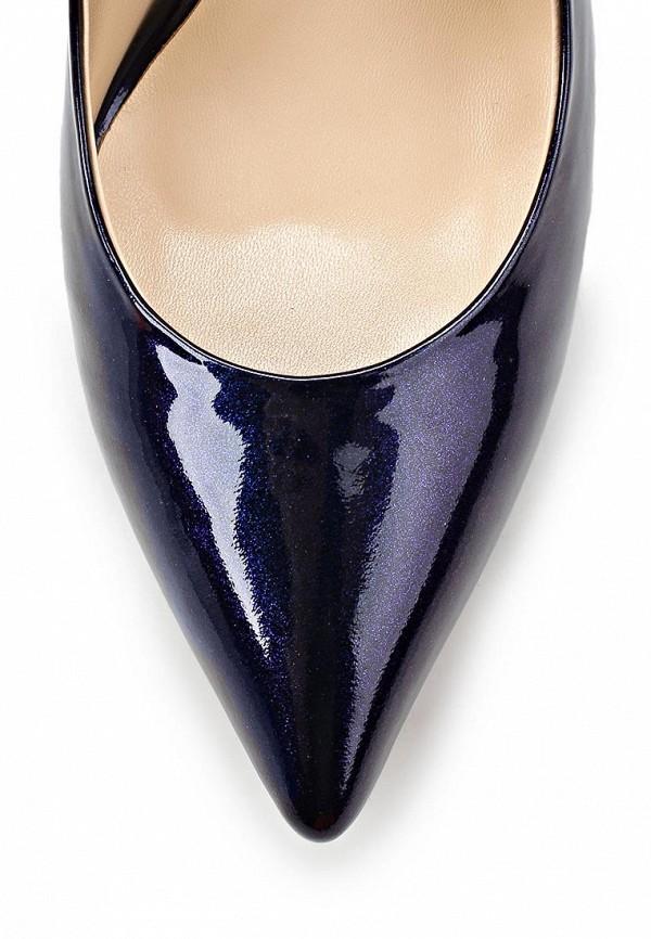 фото Туфли на каблуке Dali DA002AWBEI14, фиолетовые из лаковой кожи