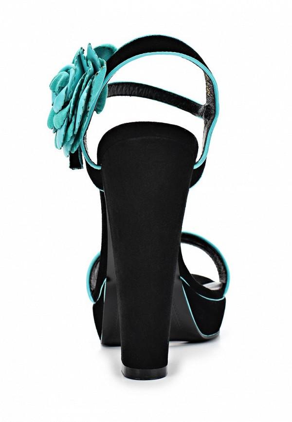 фото Босоножки на толстом каблуке Dali DA002AWBEI19, черные