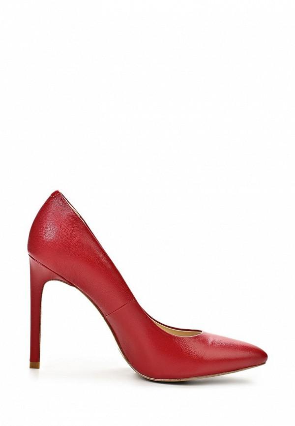 фото Туфли на высокой шпильке Dali DA002AWBEI50, красные кожаные