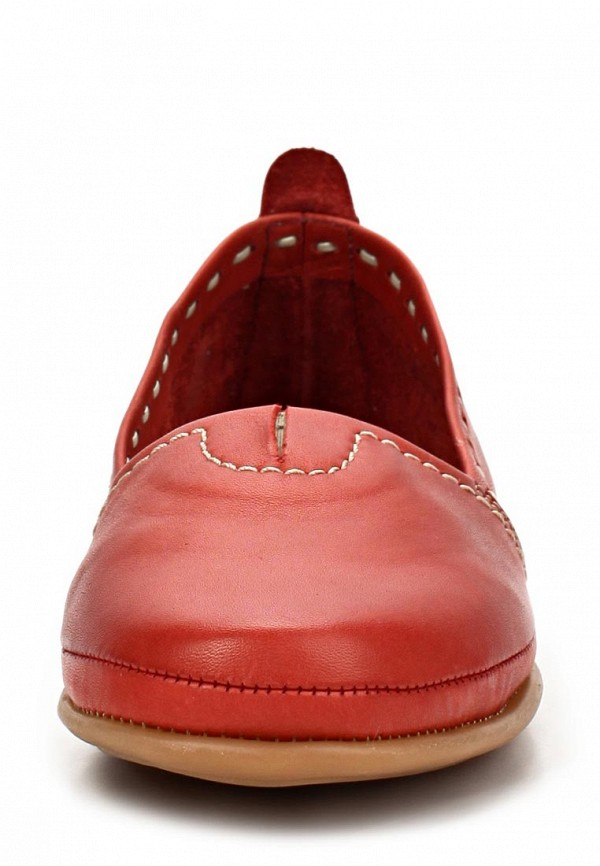 фото Слипоны женские Dali DA002AWBHL88, красные
