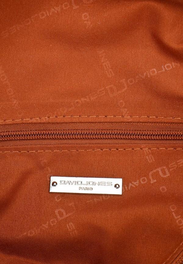 фото Рюкзак женский кожаный David Jones DA919BWCLE98 - картинка [4]