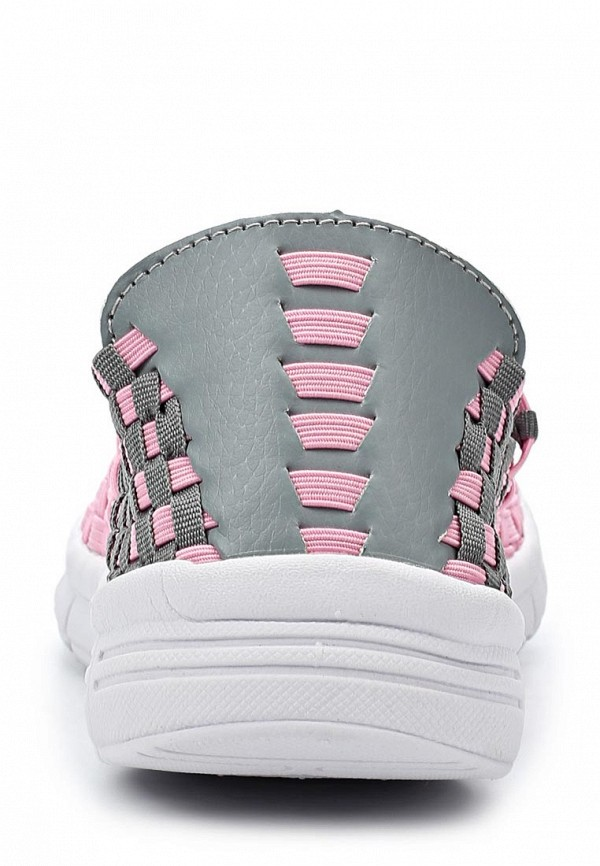 фото Слипоны женские Daze DA921AWARN40, розово-серые