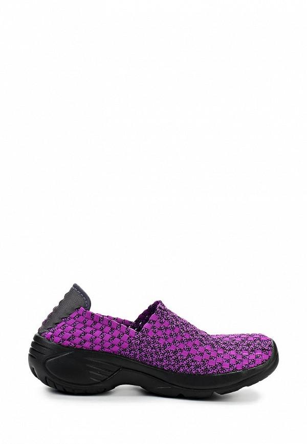 фото Слипоны женские Daze DA921AWARO52, фиолетовые