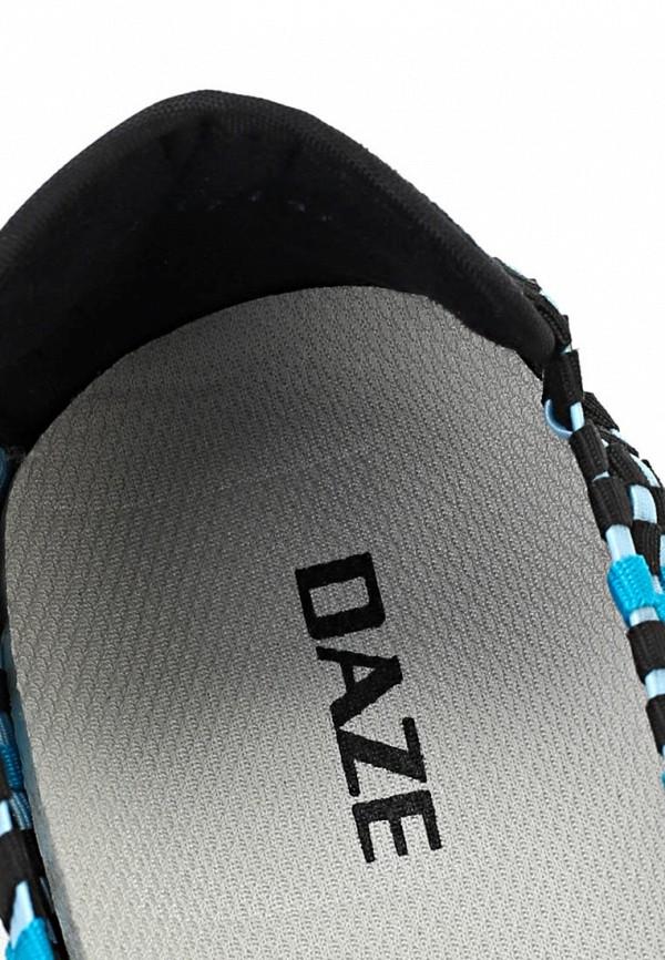 фото Слипоны женские Daze DA921AWARO58, черно-голубые