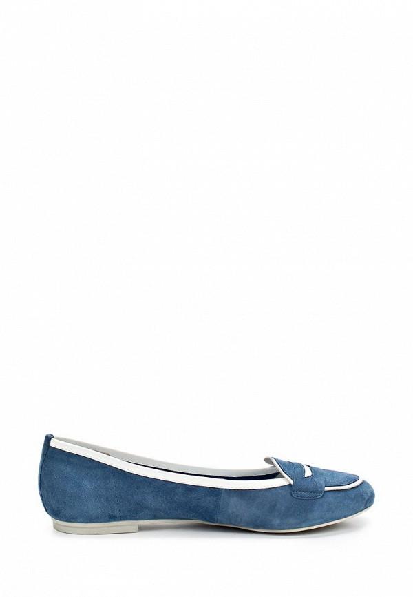 фото Лоферы женские Dino Ricci DI004AWAOW24, голубые
