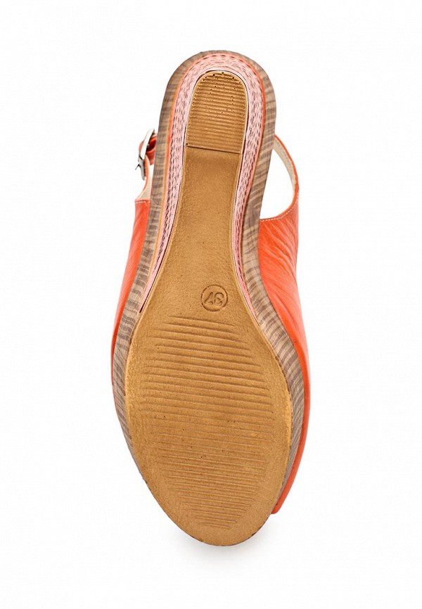 фото Босоножки на платформе Dino Ricci DI004AWAOW98, оранжевые