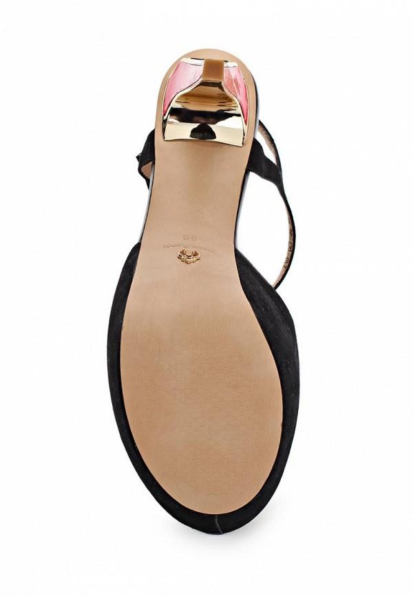 фото Босоножки на высоком каблуке Dino Ricci DI004AWBCW91, черные