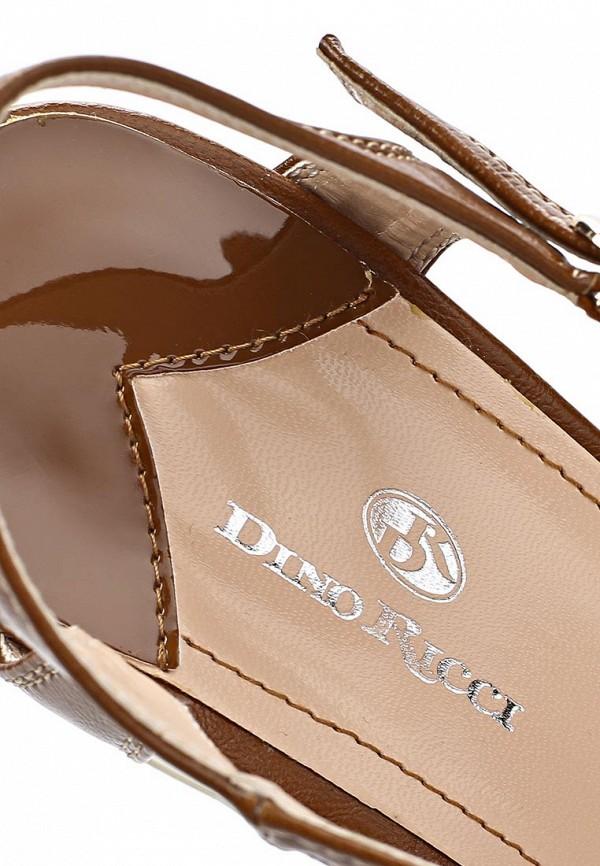 фото Босоножки на платформе Dino Ricci DI004AWBCW95, коричневые