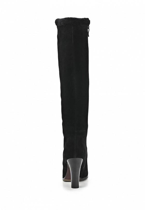 фото Сапоги женские на каблуке Dino Ricci DI004AWCJW71, черные высокие