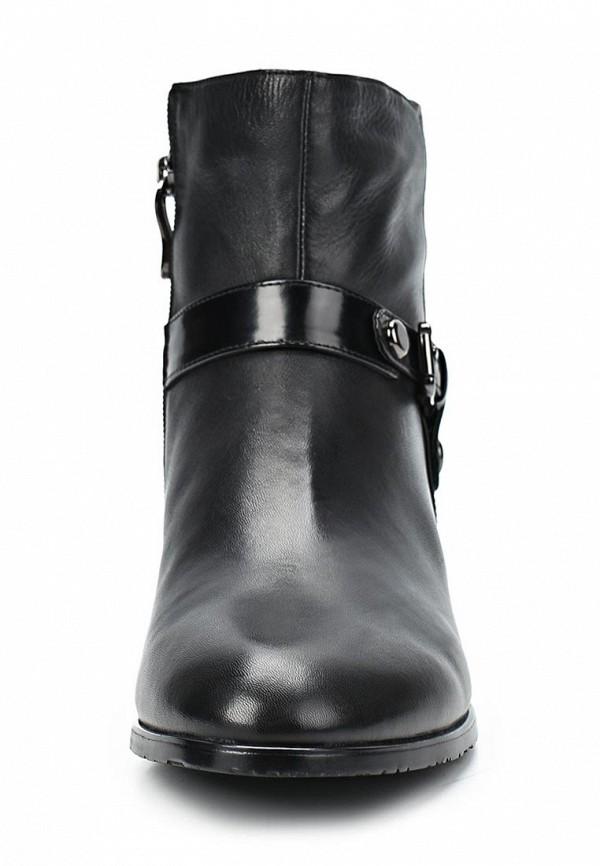 фото Женские полусапожки без каблука Dino Ricci DI004AWCKU01, черные