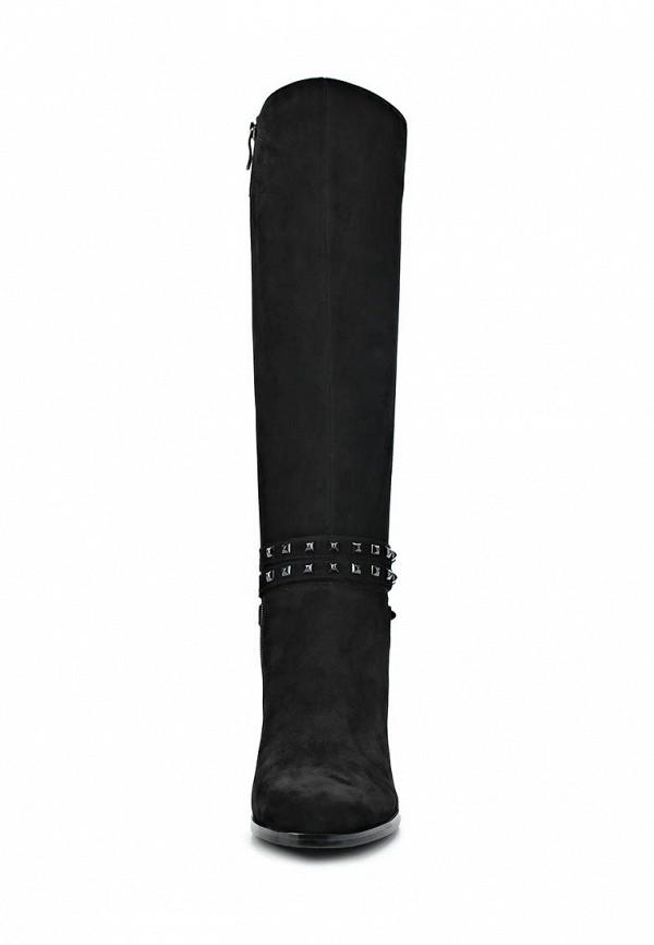 фото Сапоги женские на низком каблуке Dino Ricci DI004AWCKU61, черные