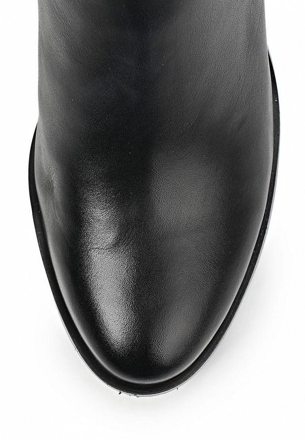 фото Сапоги женские на толстом каблуке Dino Ricci DI004AWCKU96, черные