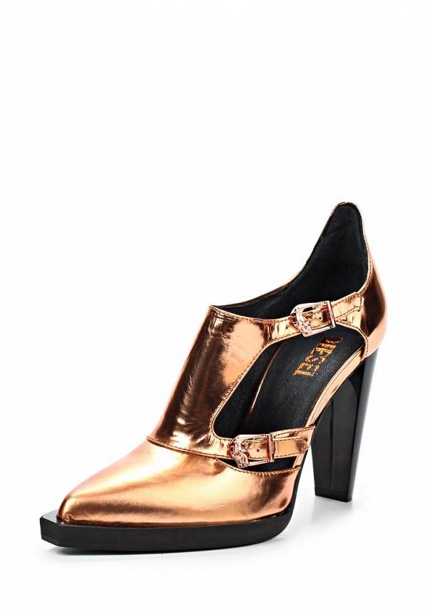 фото Туфли женские на каблуке Diesel DI303AWAFQ32, золотые