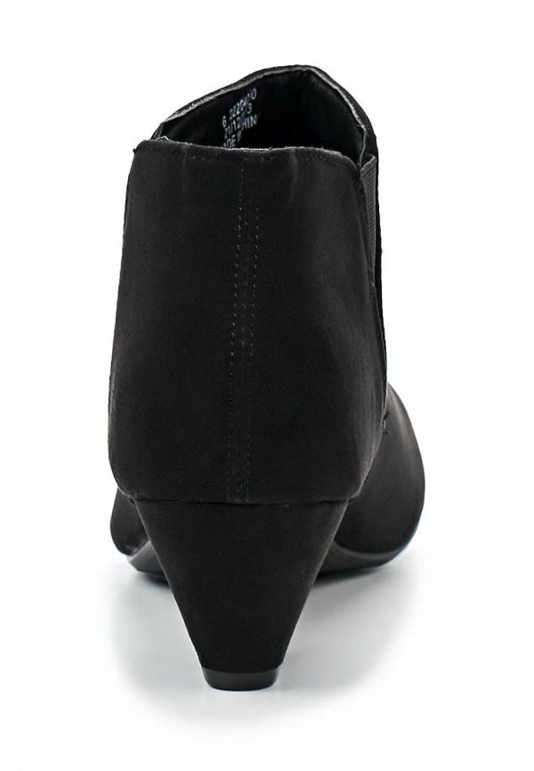 фото Ботильоны на низком каблуке Dorothy Perkins DO005AWBLE41, черные