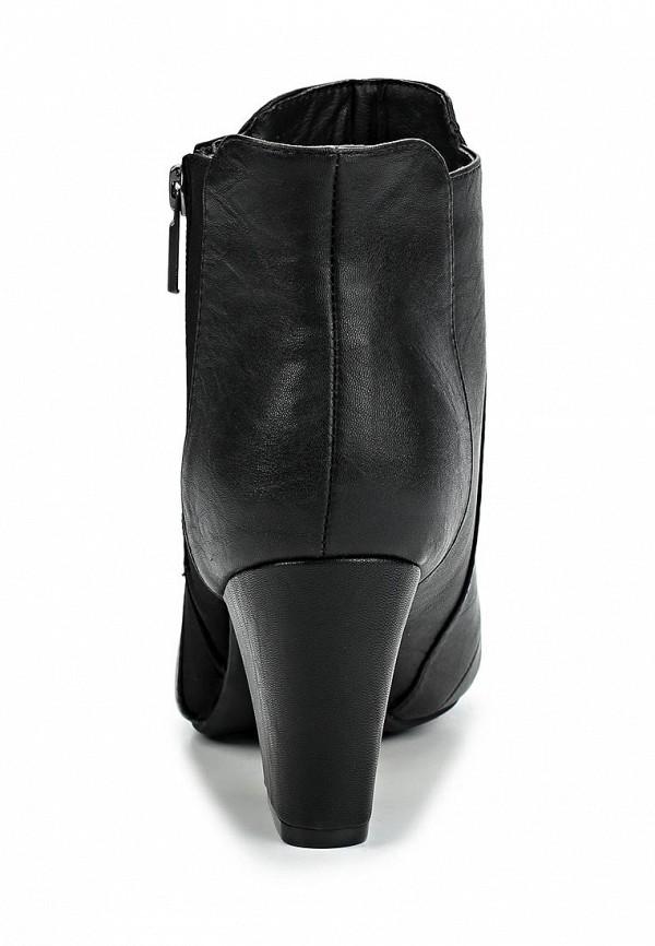 фото Ботильоны на толстом каблуке Dorothy Perkins DO005AWBWC33, черные
