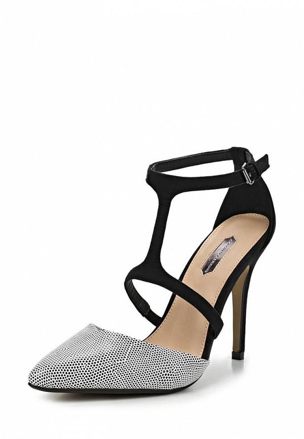 фото Туфли на высоком каблуке Dorothy Perkins DO005AWCIM64, черно-серые