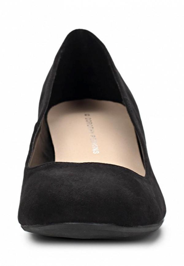 фото Туфли на низком каблуке Dorothy Perkins DO005AWCIM69, черные