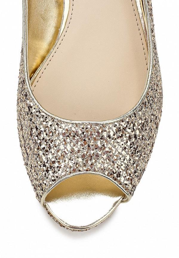 фото Туфли на низком каблуке Dorothy Perkins DO005AWCKK81, золотые