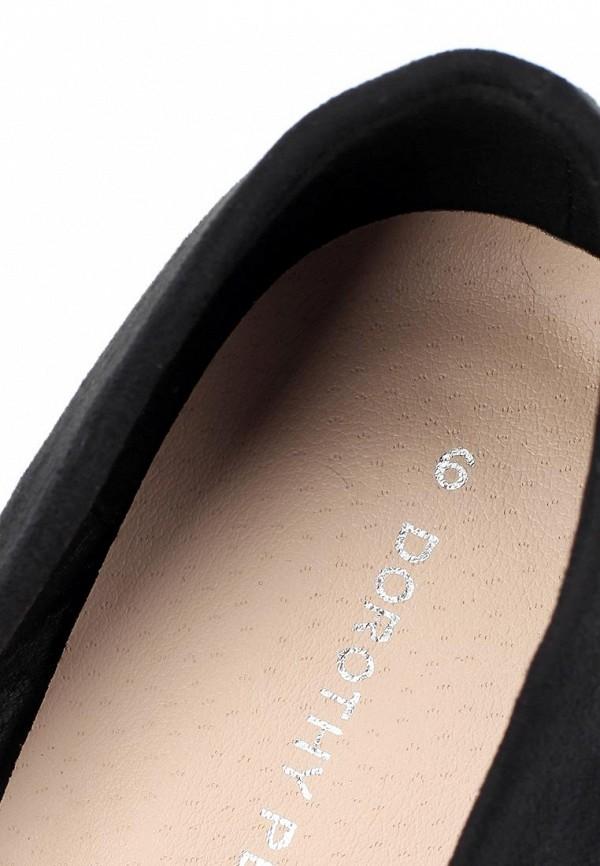 фото Туфли на низком каблуке Dorothy Perkins DO005AWCKK87, черные