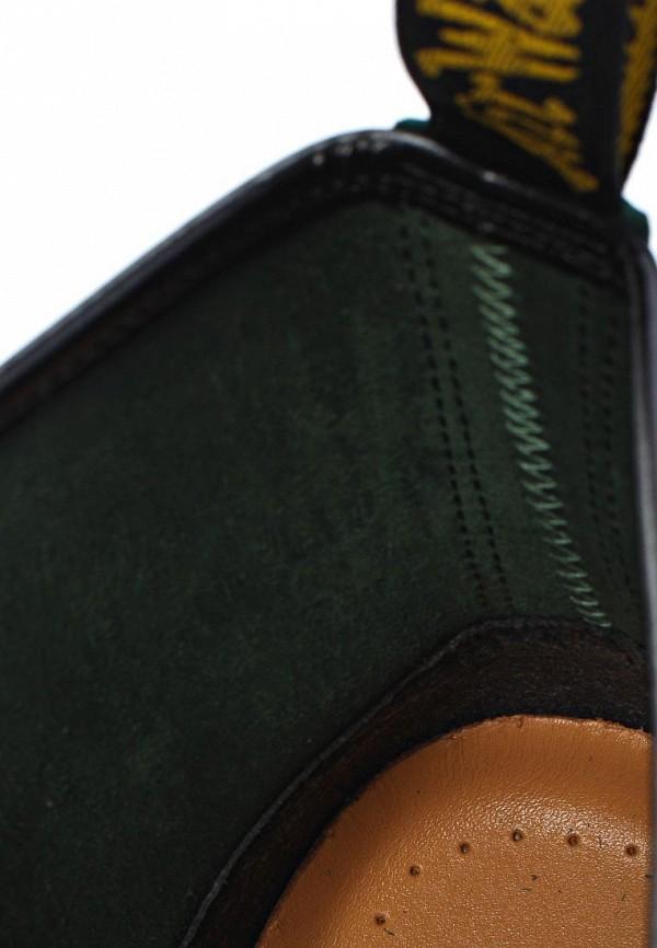 фото Ботинки женские Dr. Martens DR004AUJV691, зеленые