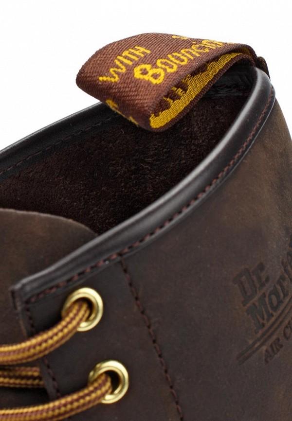фото Ботинки женские на шнурках Dr. Martens DR004AUJV696, коричневые