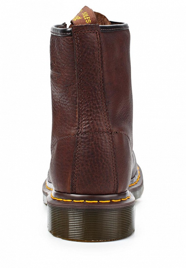 фото Ботинки женские на шнурках Dr. Martens DR004AUJV697, коричневые