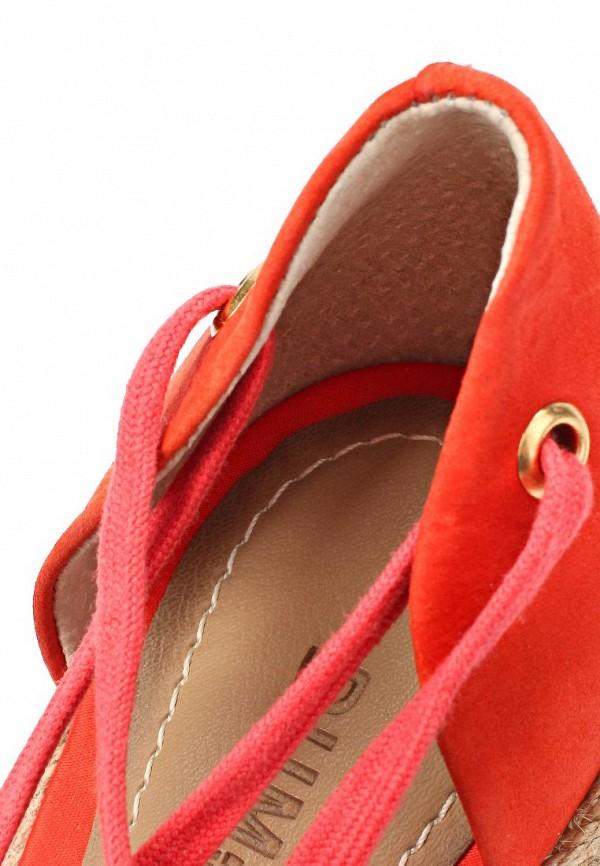 фото Эспадрильи женские на платформе Dumond DU593AWAET88, красные