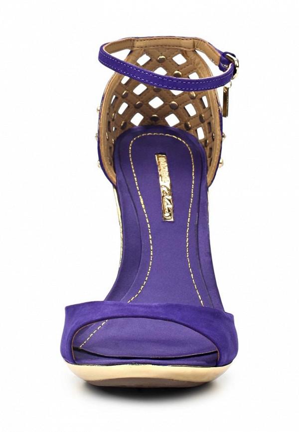 фото Босоножки на шпильке Dumond DU593AWAET96, фиолетовые