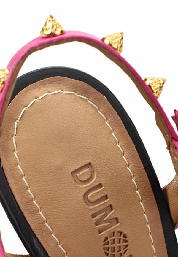 фото Босоножки на шпильке Dumond DU593AWAEU07, розовые