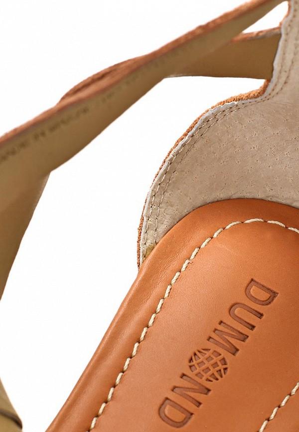фото Сандалии женские Dumond DU593AWARG65, коричневые