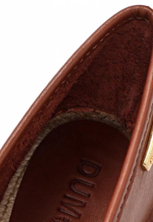 фото Эспадрильи женские Dumond DU593AWARG95, коричневые