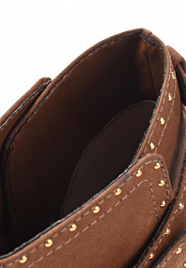 фото Ботильоны на толстом каблуке Dumond DU593AWKV465, коричневые