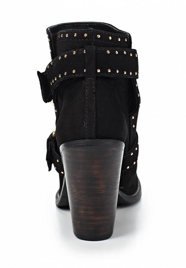 фото Ботильоны на толстом каблуке Dumond DU593AWKV466, черные