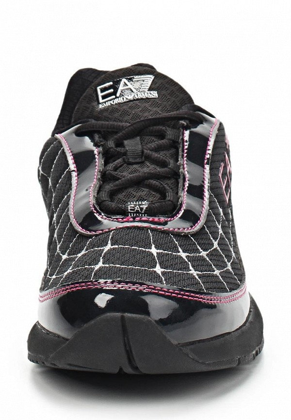 фото Кроссовки женские EA7 EA002AWBMT28, черные