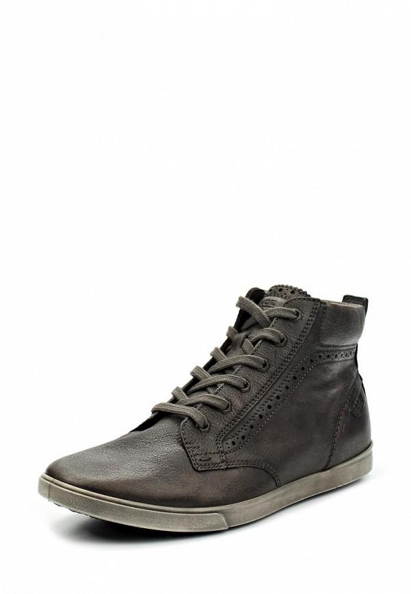 ea4f288d5fda Мужские ботинки ECCO (ЭККО) IU750. мужские.Цвет  серый. Материал   натуральная кожа. Осень-зима 2013 2014. купить