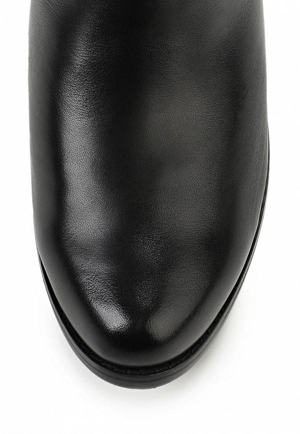 фото Сапоги женские кожаные Elche EL242AWATM53, черные