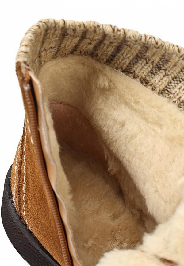 фото Ботинки женские на платформе Elche EL242AWATM62, коричневые