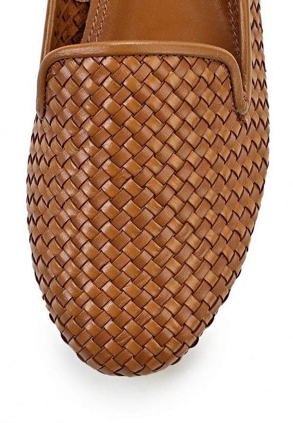 фото Лоферы женские Elche EL242AWBGB06, коричневые