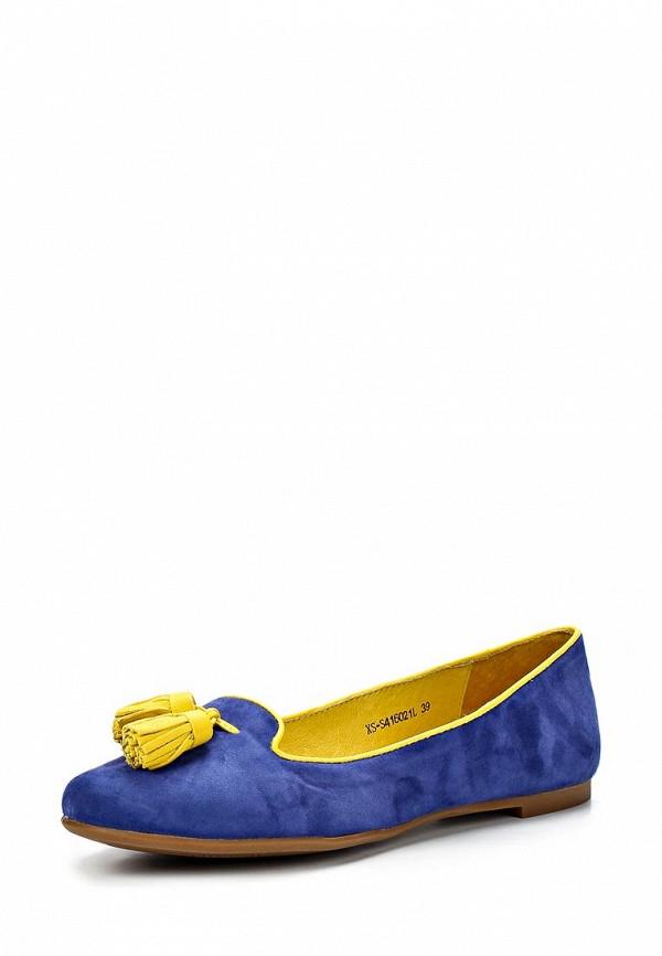 фото Лоферы женские Elche EL242AWBGB21, синие
