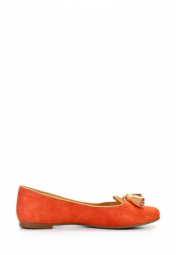 фото Лоферы женские Elche EL242AWBGB22, оранжевые