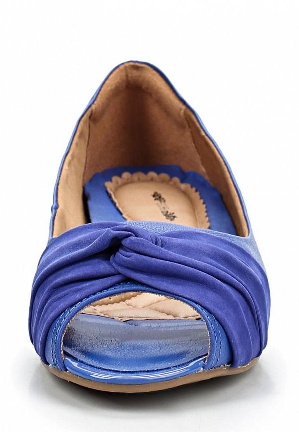 фото Балетки с открытым носом Elche EL242AWBZY19, фиолетово-синие