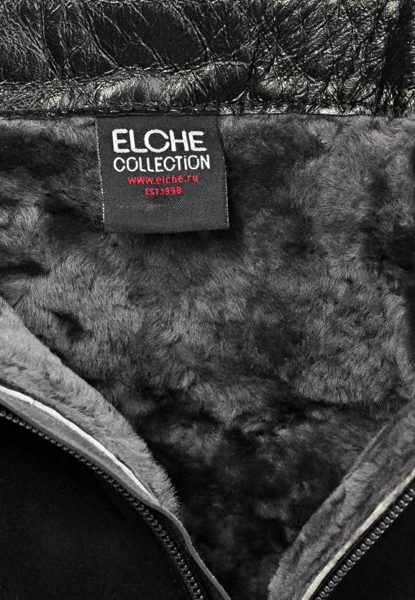фото Ботильоны на платформе и каблуке Elche EL242AWCY770, черные замшевые