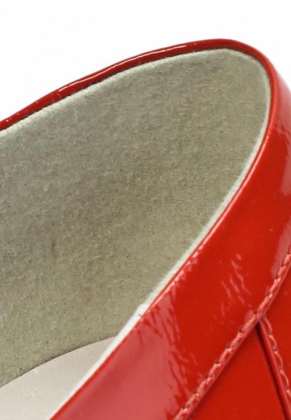 фото Лоуферы женские Elche EL242AWFO572, красные лаковые