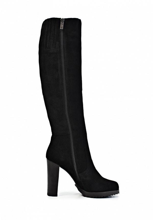фото Сапоги женские на высоком каблуке Elche EL242AWJX826, черные