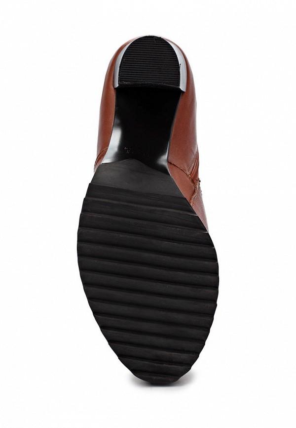 фото Сапоги женские на высоком каблуке Elche EL242AWJX828, коричневые